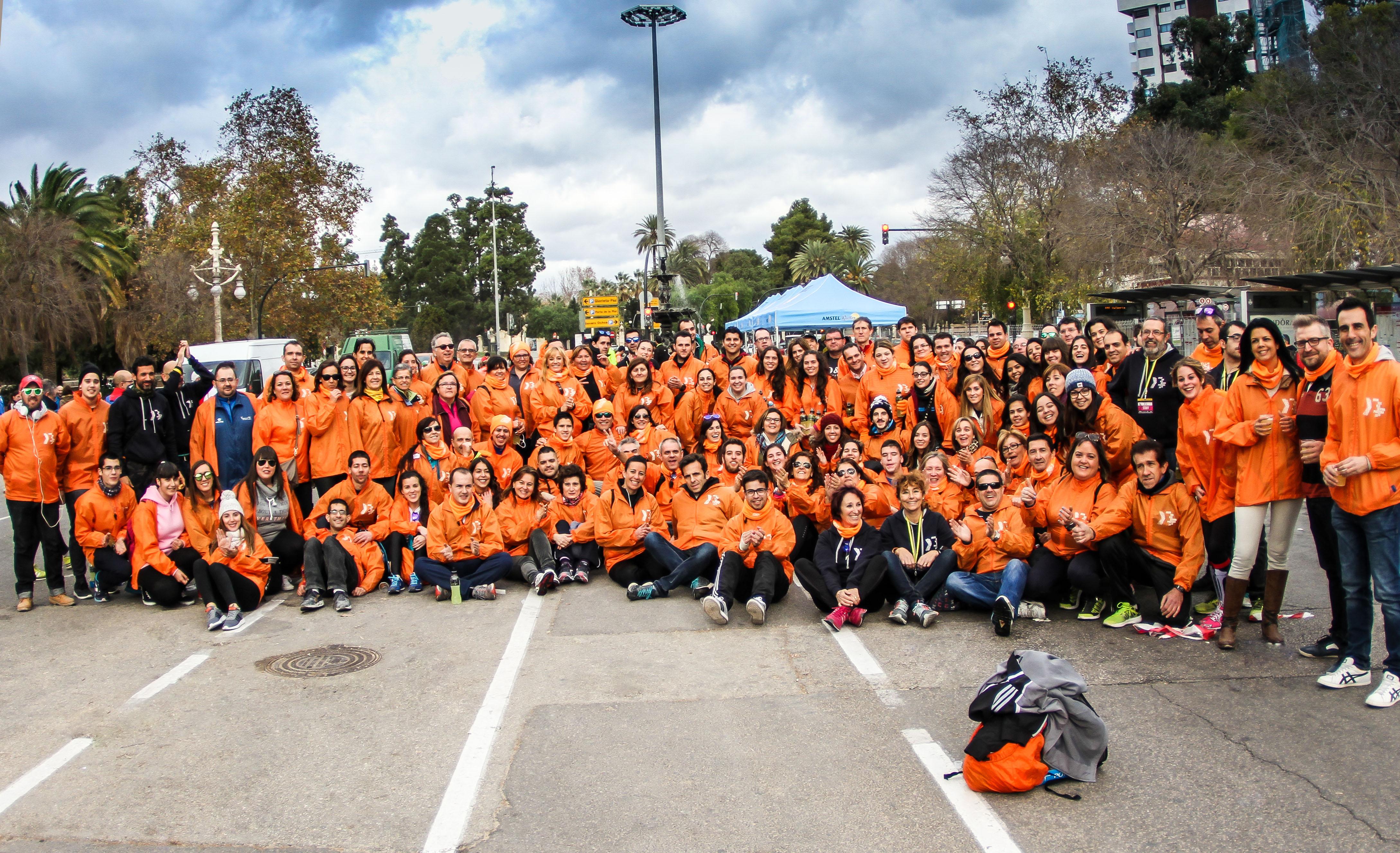 Voluntarios 10k Valencia 2016