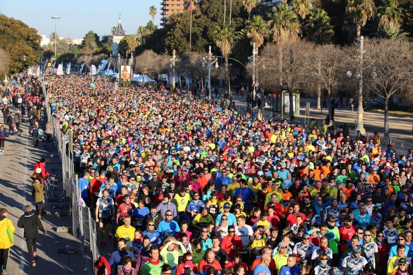 Salida del 10K Valencia 2017