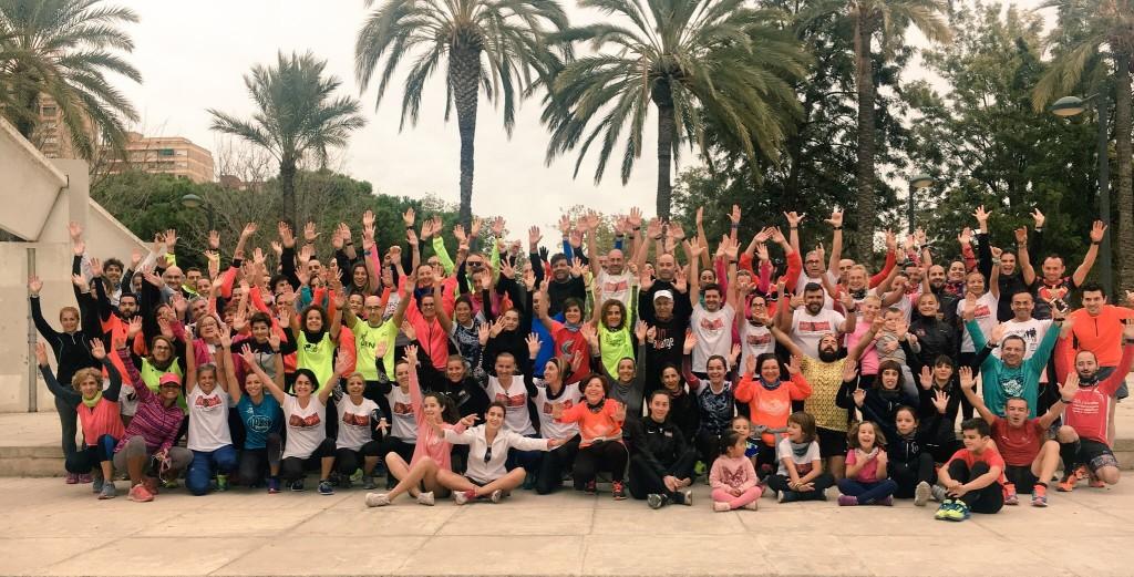 10K Valencia Grupos de entrenamiento