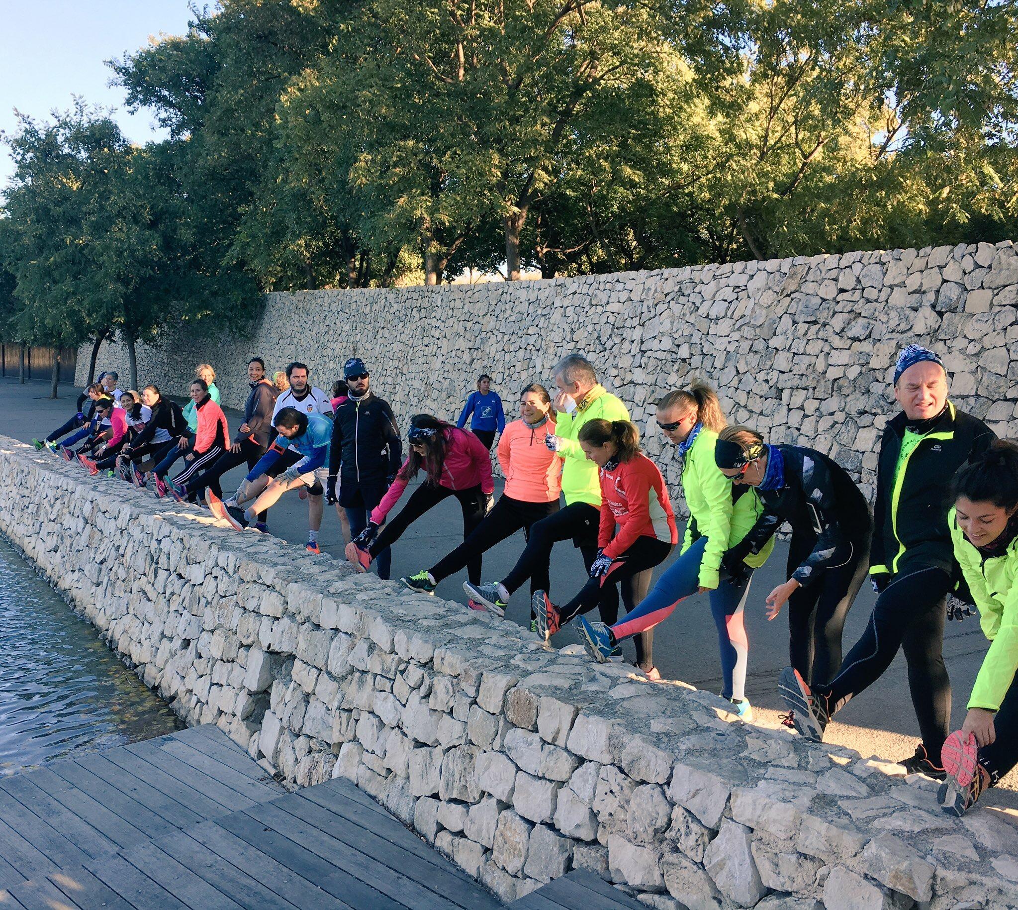 Grupo entrenamiento Raquel Landín
