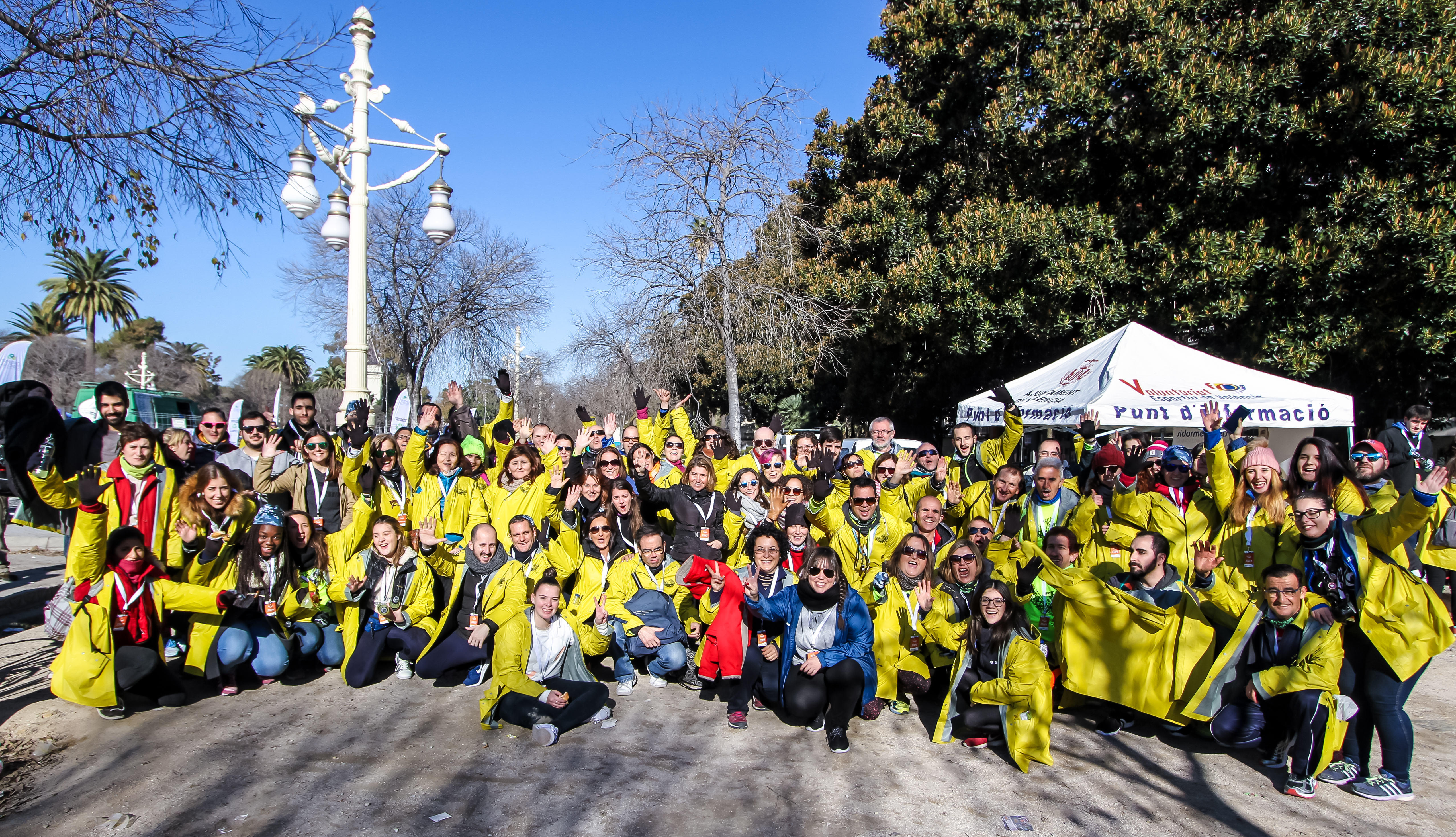 Voluntarios 10k Valencia