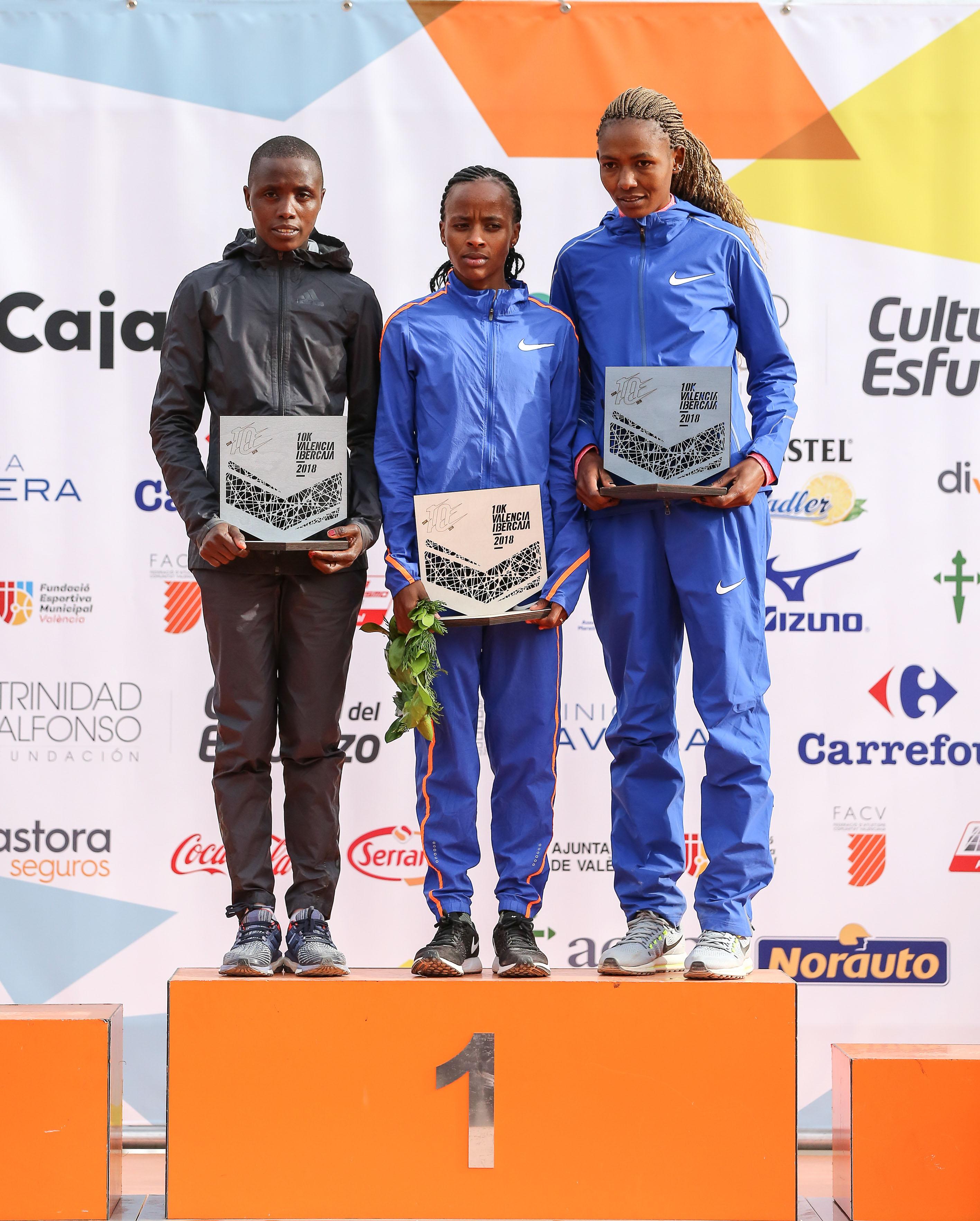Ganadoras 10K Valencia 2018