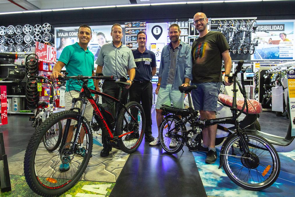 Ganadores bicicleta eléctrica Norauto